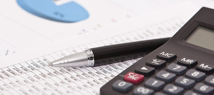 Financial documents use small business accounting principles.