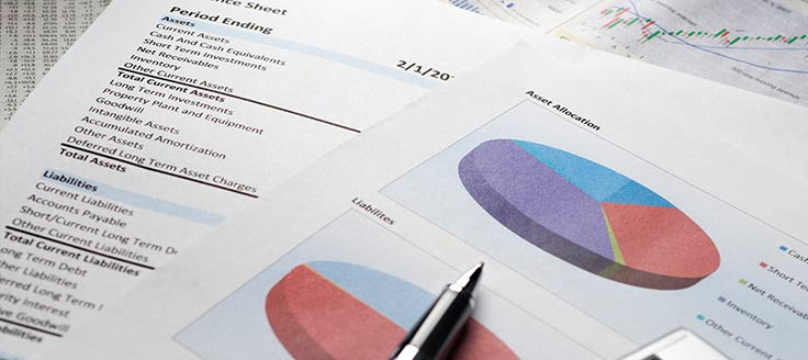 Your company's financials should be fleshed out in spreadsheets covering your key financial statements.