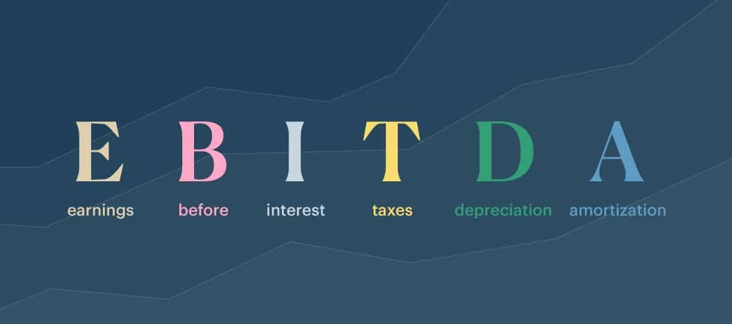 EBITDA text graphic