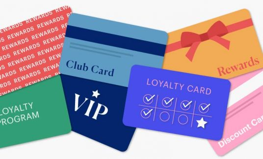 There are several loyalty and reward cards.
